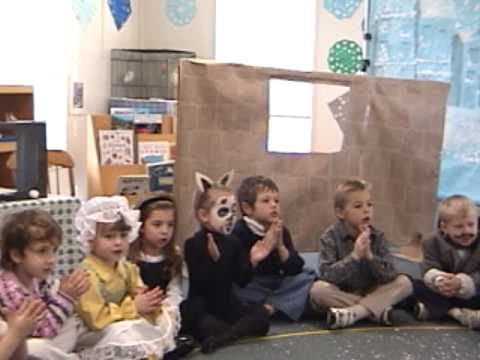 Myrtle Farm Montessori School Holiday Celebration Songs 2001 Pt 2