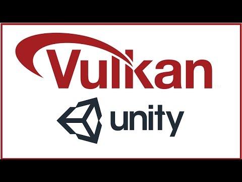 Как включить поддержку API Vulkan в Unity