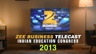 Zee Business Telecast   Indian Education
