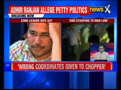Some officials conspiring with TMC, says Cong President Adhir Ranjan Chowdhury
