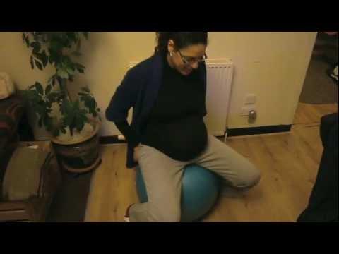 38 Weeks Belly, 'pregnant' Dad video