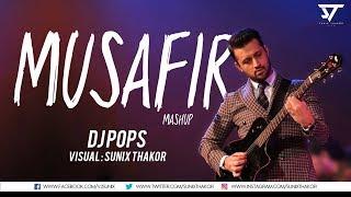 download lagu Atif Aslam  Musafir Mashup  Dj Pops  gratis