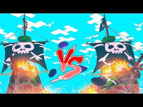 НОВЫЙ МОРСКОЙ БОЙ! НОВАЯ МИНИ ИГРА НА РЕАЛМСЕ! БИТВА ПИРАТОВ ПРОТИВ БОССА! Minecraft Pirate Battle