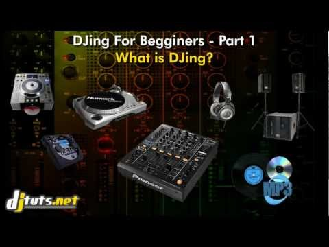Beginner DJ Tutorial - What is DJing? (part 01)