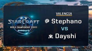 Stephano vs Dayshi ZvT - Group A Stage 2 - WCS Valencia 2017 - StarCraft II