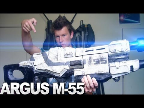 Mass Effect 3 - M-55 Assault Rifle Exact Replica by DaFrontlineTrooper