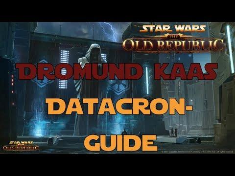 SWTOR Datacron Guide für Dromund Kaas Imperium