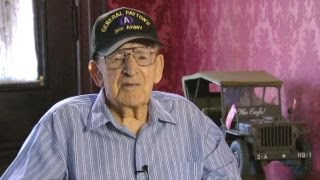 World War II veteran shares memories of driving Gen. Patton