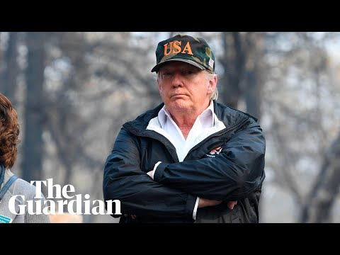 Trump confused over fire-hit town Paradise: 'Pleasure, what a name'