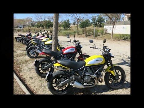 Ducati Scrambler - Presentación y prueba