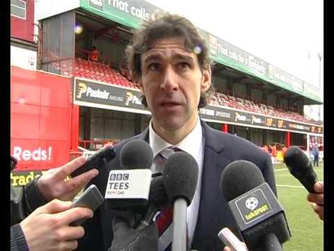 Video: Aitor Karanka on the victory at Brentford