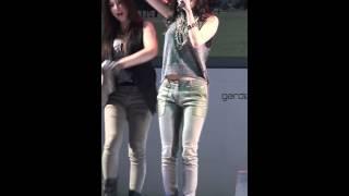100610 4Minute Gayoon - HuH @ Garden 5 Concert