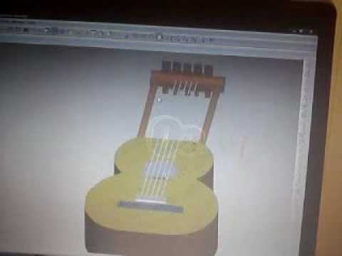 Koang Duoth Guitar Cad Design By Bol Jock video