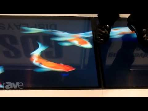 DSE 2015: GDS Displays Show Their Video Floor Product You Could Drive a Car Over