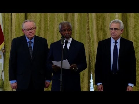 Annan: Elders, Iran mutually concerned over Syrian crisis
