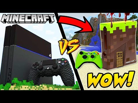 PLAYSTATION DOM VS XBOX DOM MINECRAFT! || GPLAY VS VITO MINECRAFT CHALLENGE!