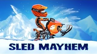 Sled Mayhem - Гонки по снегу - Android GamePlay - AndroidGameplay4You