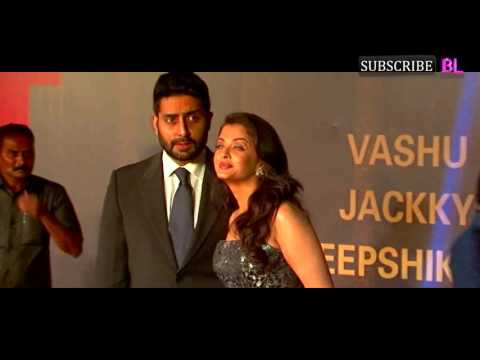Abhishek Bachchan PISSED with wife Aishwarya Rai Bachchan at Sarbjit premiere?