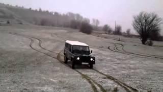 landrover defender drift