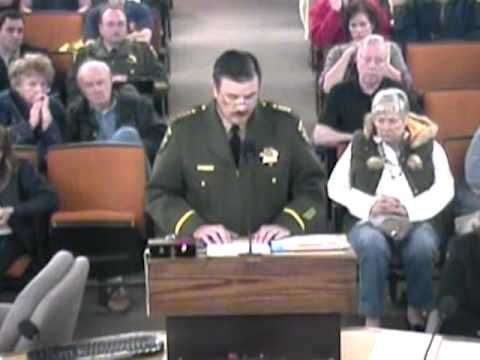 El Dorado County Board of Supervisors meeting April 25, 2011