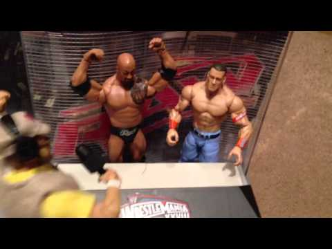 GTS WRESTLING: Regal Rumble! Royal Rumble WWE wrestling action figures animation