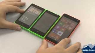 Сравнение Microsoft Lumia 435 532 535