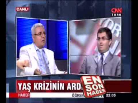 Kürt yazar Mehmet Metiner canlı yayını terk ediyordu ki