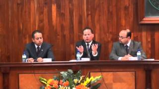 "Conferencia ""Retos de las candidaturas independientes"" Parte 1"