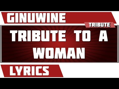 Ginuwine - Tribute to a Woman
