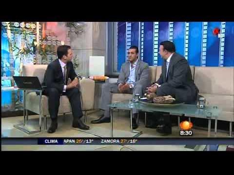 Alberto Del Rio en Primero Noticias