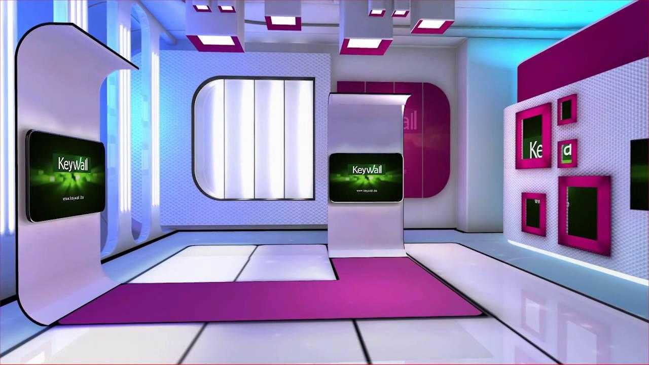 Orad 39 S Virtual Studio Library News Desgin Set YouTube