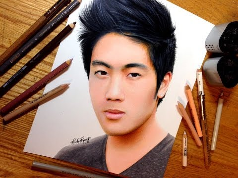 Drawing Ryan Higa (nigahiga)
