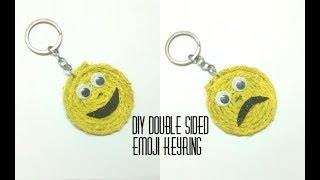 DIY Emoji Key Ring | World Emoji Day 2018 | Emoji Crafts | Art, Craft and Health