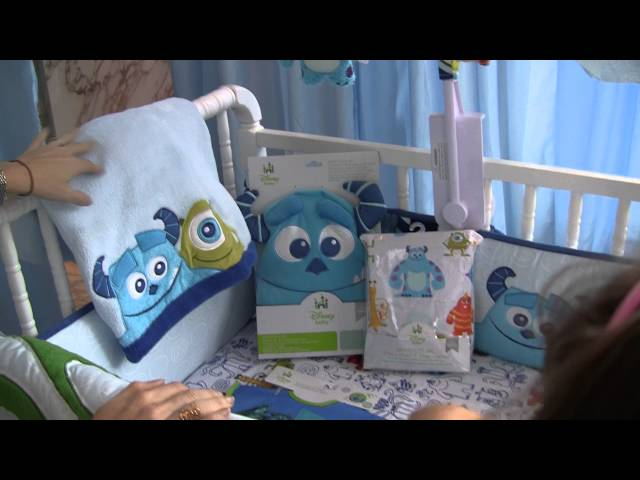 Disney Baby Monsters Inc. Nursery Theme