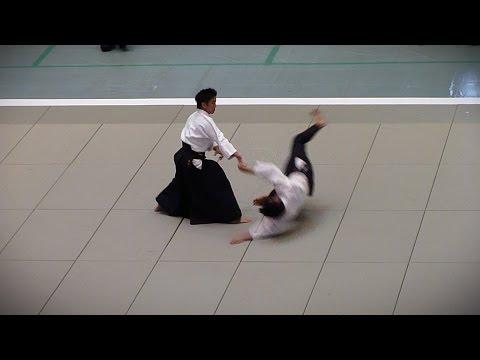 Aikido - Ueshiba Mitsuteru Waka-Sensei - 51st All Japan Aikido Demonstration 2013