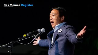 Full speech: Andrew Yang speaks at the Iowa Democratic Wing Ding