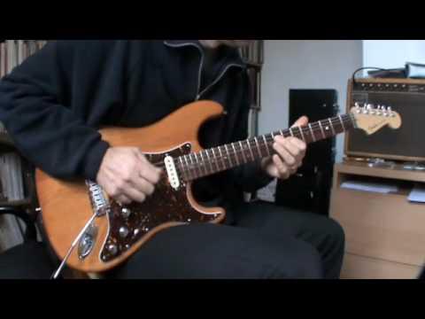 Variax Fender stratocaster intégration transplant