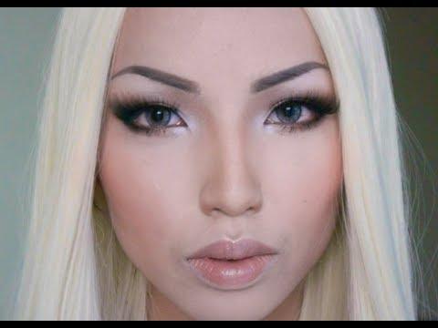 blonde bombshell transformation alena shishkova look