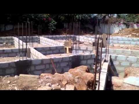 Nyaniba Estates, F515/4. OSU. Accra -More  Foundation Works
