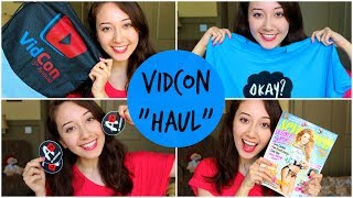 What I Got At VidCon!