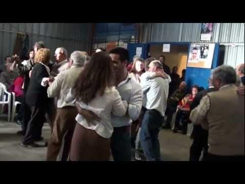 Baile solid�rio em Agualva de Cima (4) Duo L�zaro & Jo�o Tendeiro 27-1-2013