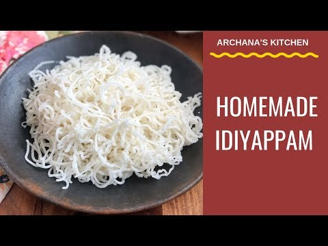 Homemade Idiyappam Recipe - South Indian Recipes By Archana's Kitchen