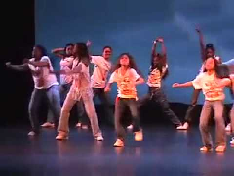 8 year old Zendaya Coleman dance performance part 1