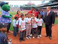 Boston Red Sox Honor John Thill and Courtland Bovee