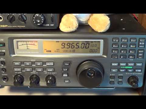 Radio Cairo Egypt with better than usual modulation on shortwave