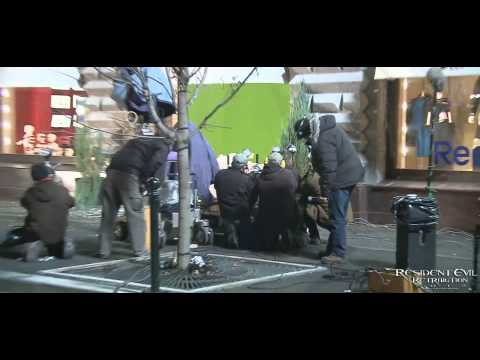 Resident Evil Retribution - Behind The Scenes 2 4 video