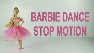 Barbie dance ballet stop motion animation, balletto classico