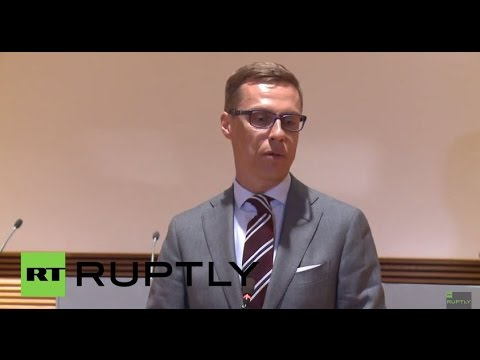 "Finland: ""Important"" to impose ""tough"" conditions on Greece - FinMin Stubb"