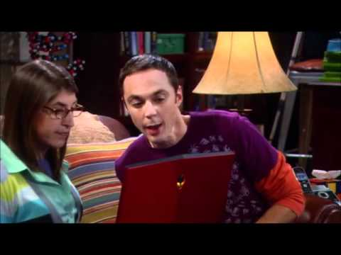 Big Bang Theory Amy stellt ihrer Mutter Sheldon vor