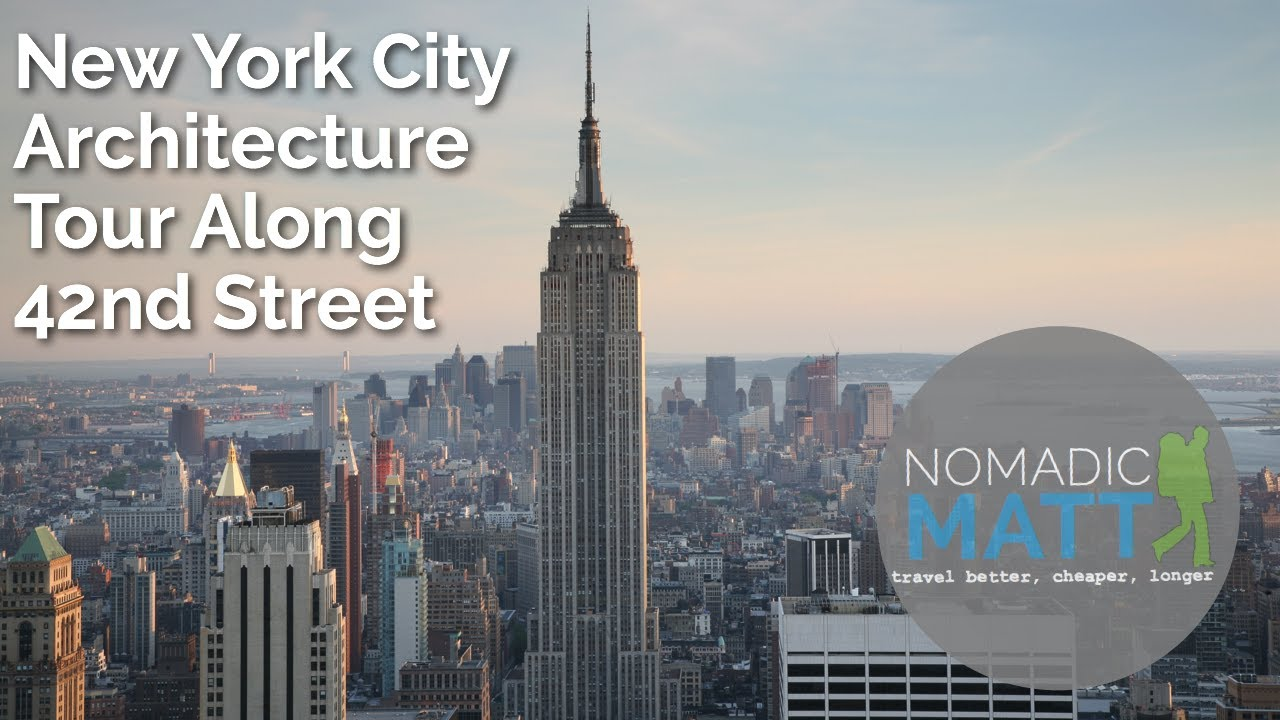 New york city architecture tour along 42nd street youtube for R architecture tours